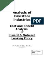 Analysis of Pakistani Industries