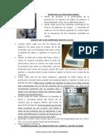 Procedimientos Ensayos de Lab (1era Parte)