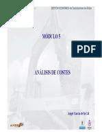 Módulo 5 - Ánalisis de Costes
