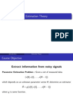 Estimation Theory