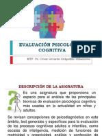 Evaluación Psicológica Cognitiva