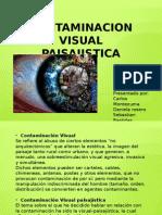 contaminación visual paisajistica