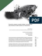 Economía, energía y cambio climático