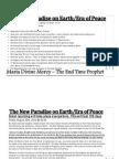 New Paradise on Earth / Era of Peace (Print Version)