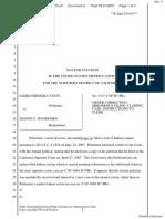 Cavitt v. Woodford - Document No. 4