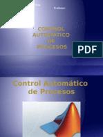 Control de Procesos - Matlab y Simulink