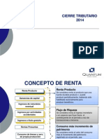 Contabilidad - Cierre Tributario 2014