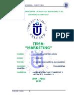 Monografía Marketing