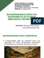 BIODIVERSIDADE E PLANTAS MEDICINAIS