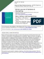 Story Telling_crafting Identities (McMahon & Watson, 2013)