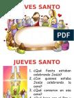 Jueves Santo Para Niños