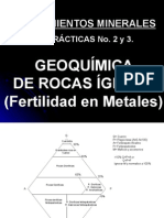 (Geoquímica Rocas Ígneas)