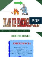 Capacitacion EMERGENCIAS