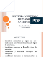 Clase 3 Anestesia
