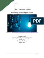 wallace global classroom module