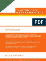 Efectos Sistémicos de Midriáticos en RN Prematuros