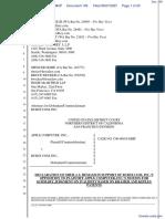 Apple Computer Inc. v. Burst.com, Inc. - Document No. 109