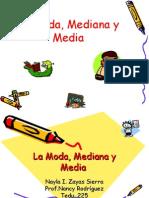 La Moda,Mediana y Media.ppt