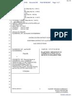 The Facebook, Inc. v. Connectu, LLC et al - Document No. 80