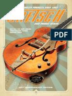 Catálogo Baterías Gretsch 2008 - Lista de precios