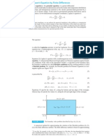 Solving Poisson's Equation by Finite Differences