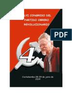 DocumenosXLVIcongreso del POR Boliviano