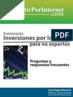 Preguntas inversiones