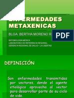 Expo. Enfermedades Metaxénicas - Py. Piloto Dengue y Tics.
