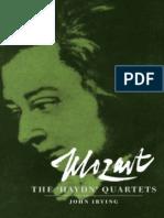 Mozart, The Haydn Quartets Cambridge Music Handbooks(1)
