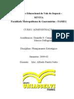 Plano Estratégico Empresa Adage 2010-2014
