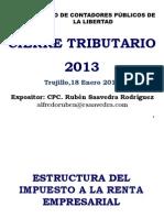 CierreTributario2013 18-01-2014