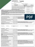 faculty advisor evaluation