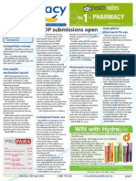 Pharmacy Daily for Mon 13 Apr 2015 - LSDP submissions open, NSW allows pharmacist flu vax, PSA health destination launch, Second try for no script pill, and much more
