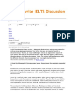 How to Write IELTS Discussion Essays
