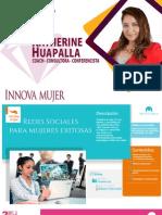 Catalogode conferencias Innova Mujer - Conferencista Katherine Huapalla