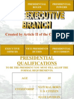 executivebranch powerpoint