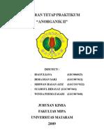Anorganik II 2009