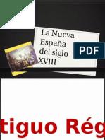 La Nueva España Siglo 18