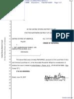 United States of America v. 1997 Lamborghini Diablo, Vin ZA9RU37P6VLA12636 et al - Document No. 4