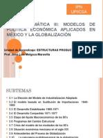 Modelos de Politica Economica en Mexico