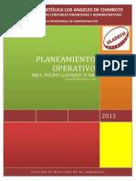 Libro Completo de Planeamiento Operativo