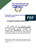 Instituto Dominicano de Tecnología Comercial.docx