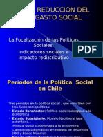 La Reduccion Del Gasto Social