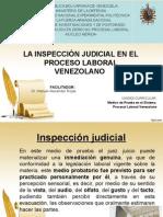 La Inspeccion Judicial en El Derecho Procesal Laboral