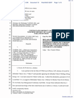 Xiaoning et al v. Yahoo! Inc, et al - Document No. 10