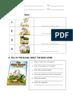 The White Radish Worksheet