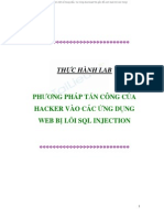 SQL Injection Lab 5477