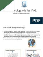 04-IAAS-Epidemiología de Las IAAS