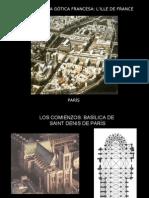 Arquitectura gÓtica Francesa