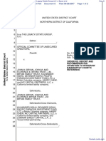 Official Committee of Unsecured Creditors of Legacy Estate Group LLC v. Bryan et al - Document No. 8